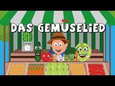 Das Gemüselied - Kinderlieder zum mitsingen - german vegetable song - Gemüse lernen - YouTube