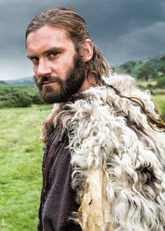"""Clive Standen as """"Rollo"""" in """"Vikings"""" on A&E. Season 2 begins this spring!"""