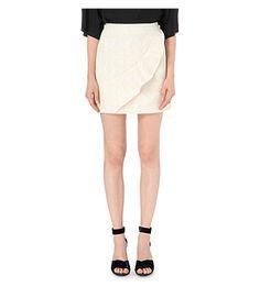 MAJE Jody jacquard skirt