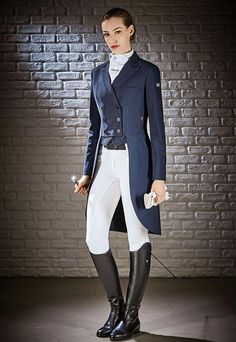 a640b93d6790 Dressage tailcoat Equiline x-cool evo m00413 marilyn.  #horseridingstyle,equestrianfashion,equestrianlifestyle