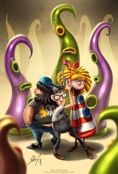 Maniac Mansion fanart by Axigan.deviantart.com on @deviantART