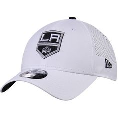 buy online cea80 9e36e Los Angeles Kings New Era Perforated Pivot 9FORTY Adjustable Hat - White King  Hat, Los