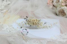 comb  #bridal #haircomb #bridalcomb #headpiece #weddingaccessory  #ivorycomb #lovely4u #bride2018 #brideideas #hairaccessories #hairbride #bridetobe #wedding2018  #handmadeaccessories