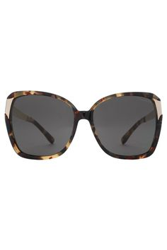 Oversized Sunglasses with checkered arms By Oscar de la Renta $559