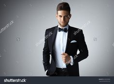 Stylish Young Man In Suit And Tie. Business Style. Fashionable Image. Office…
