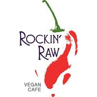 Home - Rockin' Raw - Vegan Restaurant – All items are organic, soy / gluten-free, raw and vegan…even dessert.