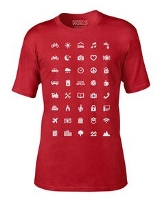 Camiseta Iconspeak World.