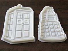 Ednisley 3D printed Dr Who - Cookie Cutter by Dgwilson