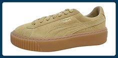 Puma , Damen Sneaker marshmallow puma silver 02 38, - oatmeal gold 01 - Größe: 36 - Sneakers für frauen (*Partner-Link)