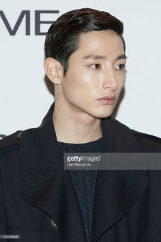 South Korean actor Lee Soo-Hyuk attends during the 'Solid Homme' Autumn/Winter 2013 Collection 25th Anniversary Fashion Show a design by Woo Young-Mi at COEX on April 19, 2013 in Seoul, South Korea.