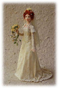 Porcelain Doll by Elisa Fenoglio