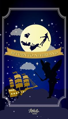 "Wallpaper ""Peter Pan"" on Behance Disney Pixar, Film Disney, Disney Fan Art, Disney Love, Disney Magic, Disney Stuff, Iphone Wallpaper Themes, Ipod Wallpaper, Disney Phone Wallpaper"