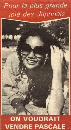 Modèle au Japon 1976 - Pascale Taurua, Miss France 1978 , Miss Calédonie 1977
