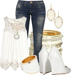 """""""Jimmy Choo wedges"""" by hope-houston ❤ liked on Polyvore"""