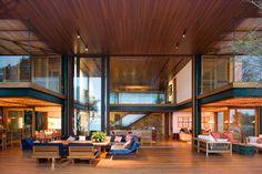 Luxury Beach House in Brazil - beachfront paradise    Guaruja House by Brazil's Bernardes Jacobsen architecture firm