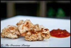 Clean Eating Chicken Nuggets (Click Pic for Recipe) I completely swear by CLEAN eating!!  To INSANITY and back....  One Girls Journey to Fitness, Health, & Self Discovery.... http://mmorris.webs.com/