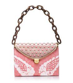 tory burch, Maddie Pink Tie Dye Shoulder Bag | Womens Top Handles & Shoulder Bags