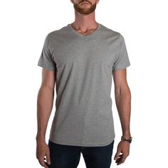 d9724a00396 The Essentials  Slim Fit V-Neck Tall Tees for Men