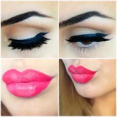 Makeup ideas in New Year's eve