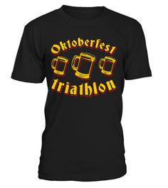 Funny Original Oktoberfest Triathlon  Funny Oktoberfest T-shirt, Best Oktoberfest T-shirt