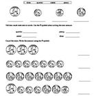The attachment consists of 5 worksheets designed to reinforce math skills during the first 9 weeks of school. There are two sheets for each day tha...