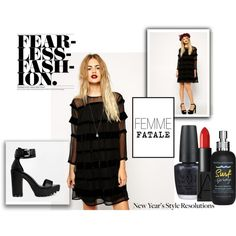 """""""Femme Fatale"""" by clovers-mind on Polyvore"""