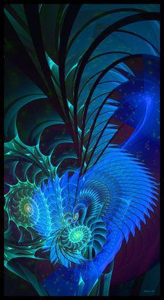 exotic blue by Szellorozsa