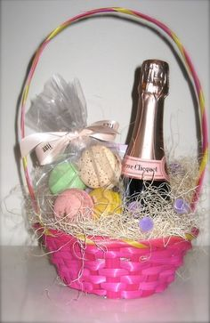 A grown up easter basket easter baskets easter and cake negle Images