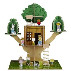 PBS Kids Arthur 3D Tree House Playset