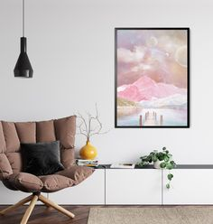 Surreal Landscape Art by InfiniteMantra. Collage Landscape,Surreal Art Print, Nursery Wall Art, Surreal Painting Wall Art. A one of a kind piece of art that will bring color and life to bedroom, living room, home office, any room. My art is inspired by dreams, taking you to a magical realm where anything is possible. #wallartprint #artwork #wallart Collage Landscape, Contemporary Art Prints, Surrealism Painting, Yoga Art, Beautiful Wall, Surreal Art, Nursery Wall Art, Office Decor, Wall Art Prints