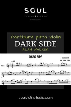 The best transcription of the song Dark Side - Alan Walker / Music sheet with backing track to play along in any instrument in C, violin cover. Alan Walker, Music Sheets, Sheet Music, Backing Tracks, Dark Side, Songs, Cover, World, Finance