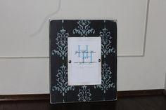 Custom Wood Frame for 5x7 photo by Higgi House