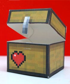 minecraft valentine box so cool! Kinder Valentines, Valentine Day Boxes, Valentines For Boys, Valentines Day Party, Valentine Day Crafts, Valentine Ideas, Printable Valentine, Homemade Valentines, Valentine Wreath
