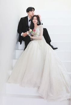 Foto Wedding, Wedding Pics, Wedding Couples, Wedding Styles, Dream Wedding, Wedding Dresses, Pre Wedding Poses, Pre Wedding Photoshoot, Ulzzang Fashion