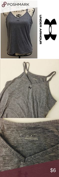 Under Amour racerback tank Under Amour basic tank with build in bra Under Armour Tops Tank Tops