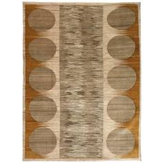 "Orley Shabahang Signature ""River Rocks"" Carpet in Hanspun Wool and Vegetal Dyes"