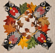 closeup, Baltimore Halloween (pattern by Pearl Pereira), posted at A Daily Dose of Fiber