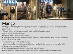 Mango definitely knows what their costumers like and rarely ever go wrong with their window displays
