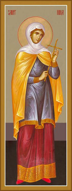 St Nina of Georgia – Damascene Gallery Religious Images, Religious Icons, Religious Art, Byzantine Icons, Byzantine Art, Catholic Art, Catholic Saints, Church Icon, Roman Church