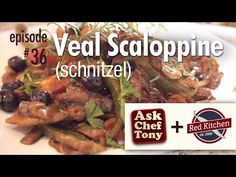 ▶ How to Make Veal Scallopini (Scaloppine) / Schnitzel, Recipe with our friends from Red Kitchen - YouTube