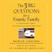 As a husband and the father of four young boys, Lencioni realized the discrepancy between the time and energy his clients put into running their organizations and the reactive way most people run their personal lives. Having experienced the stress of a frantic family firsthand, he and his wife began applying some of the tools he uses with Fortune 500 companies at home, and with surprising results.