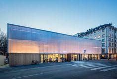 Mercado temporal en Estocolmo (Suecia)    Concebido como una solución provisional mientras duren las obras de remodelación del …