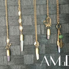 """""""Quartz in a Bullet Collection"""" by AMaDe... some of my most favorite so far"""