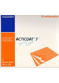 Acticoat 7 is an antimicrobial barrier Dressing comprising of a Two layer Rayon/ Polyester core between layers of nano crystalline river to help manage moisture levels. Wound Care, Bacterial Infection, Dressings, Moisturizer, Core, Layers, River, Moisturiser, Layering