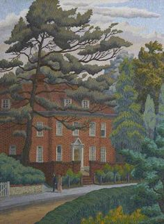 First Known When Lost: November 2012 / Charles Ginner 'Red Brick House'