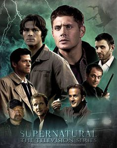 Supernatural: hands- down this is one of the best cast and well-written series ever!