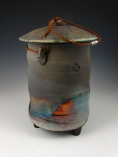 This elegant one-of-a-kind Soul Temple Raku style individual size urn has an aged look and is inspired by forms and textures of the earth, water and sky. Description from pinterest.com. I searched for this on bing.com/images