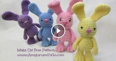 Welcome back to all lovers of the crochet . In this video , we will see how to make a cute bunny with the amigurumi technique. The tutorial is simple