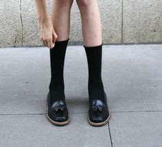 b store berlin loafers (love those shoes but those legs need a little meat!)