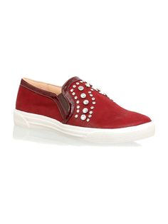 san francisco 736db 17d15 Luiza Barcelos Slip on de camurça Sneaker, Clothing Branding, Creature  Comforts, Loafers